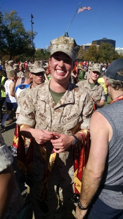 The Marine who gave me my medal.