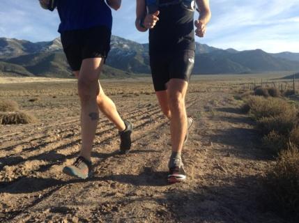 Shake out run in Anabella Utah.